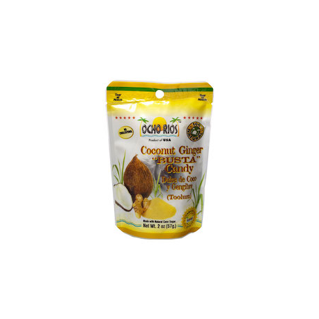 COCONUT GINGER CANDY (BUSTA)