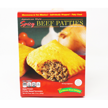 CFD BEEF PATTIES [SPICY]